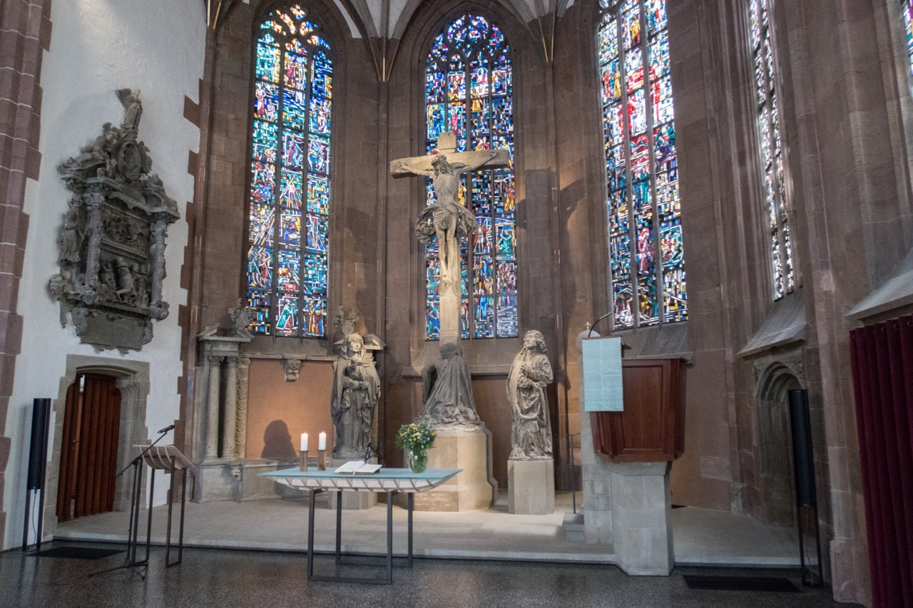 Chor mit Kreuzigungsgruppe, 1501
