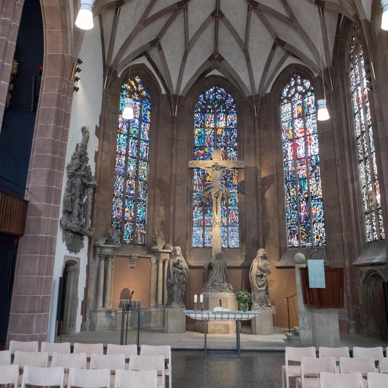 Innenansicht Altarraum