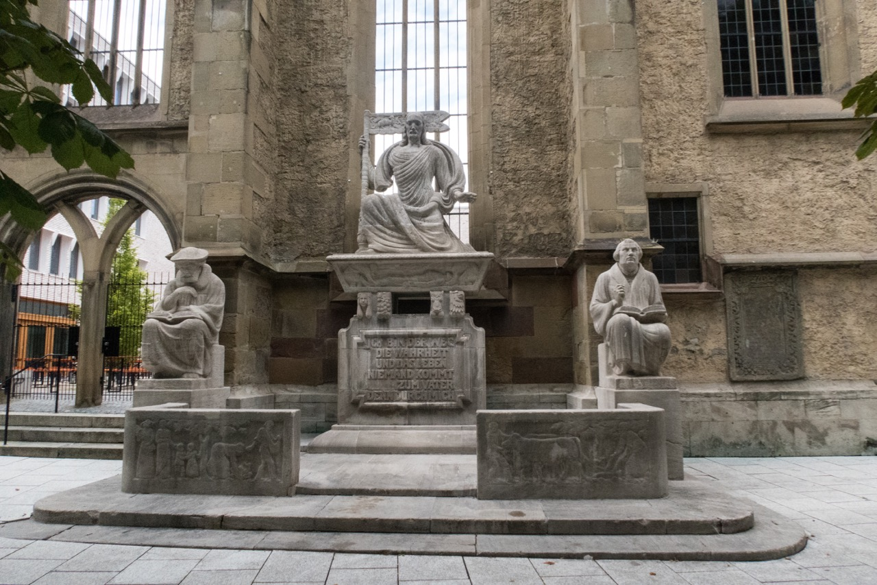 Reformationsdenkmal, 1917