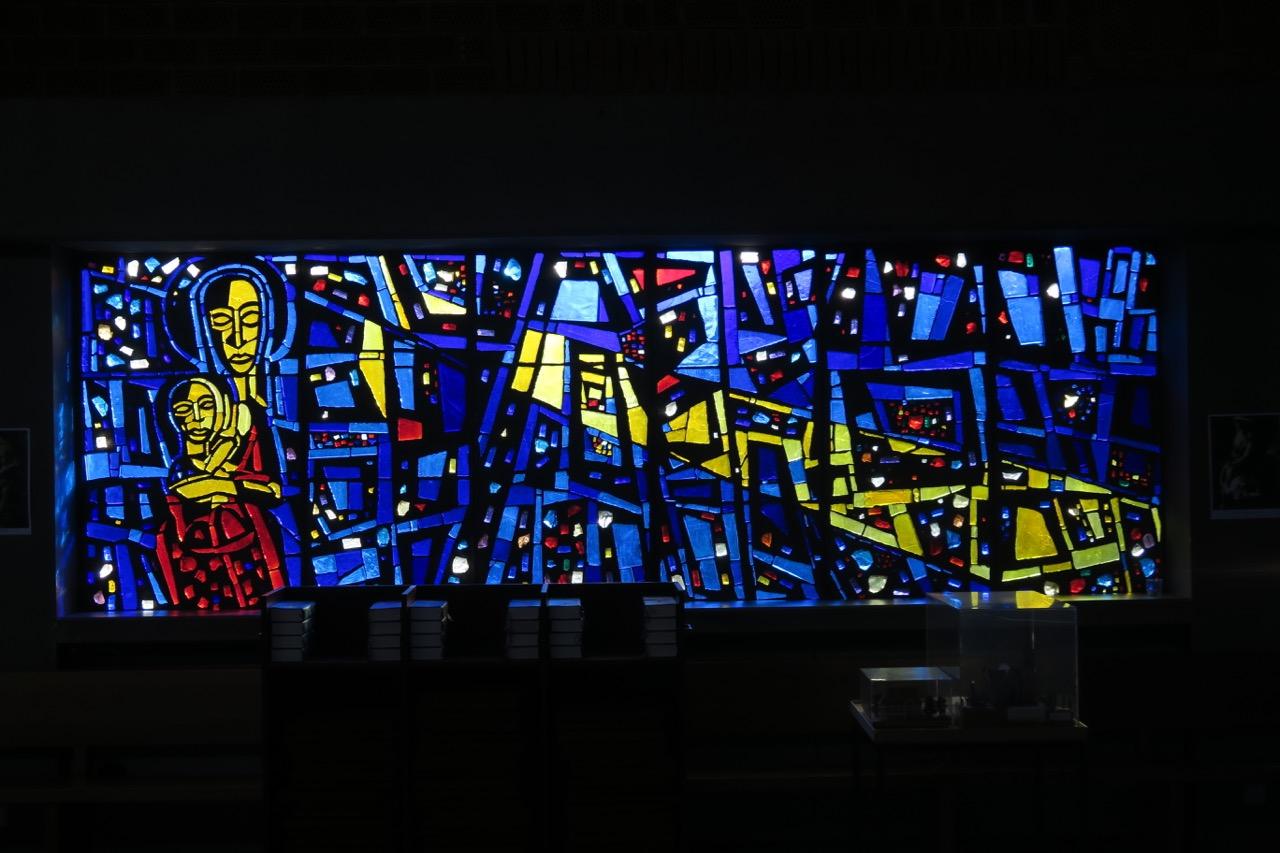 Glasfenster von Christian Oehler (1961)