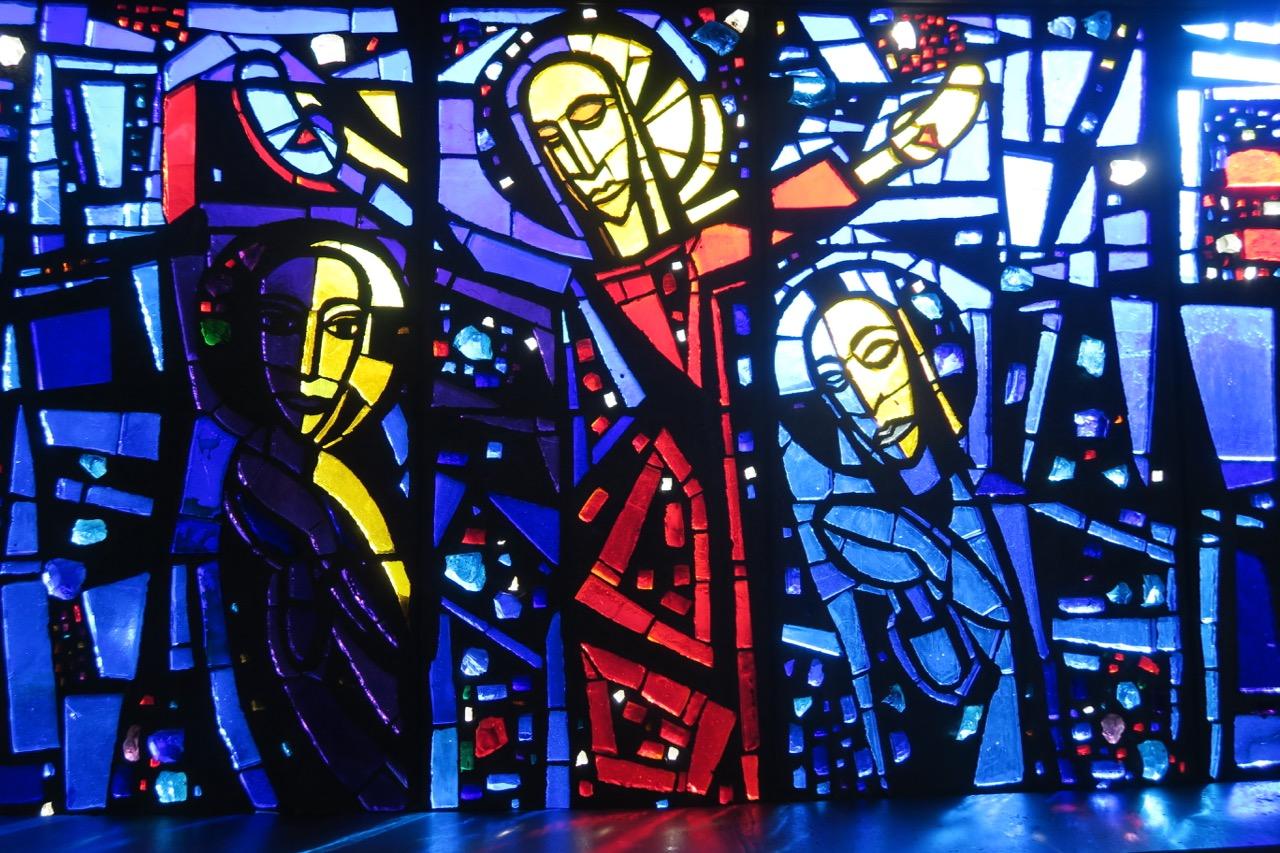 Glasfenster von Christian Oehler (1961), Detail