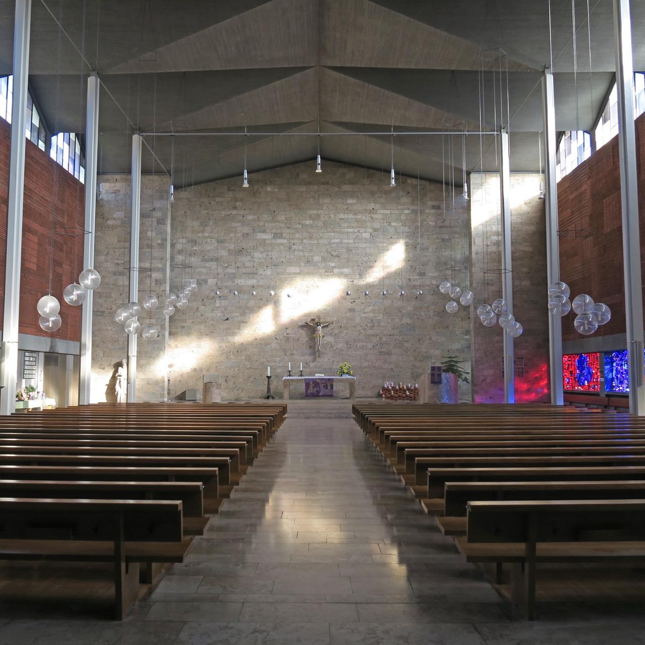 Pauluskirche, Innenansicht
