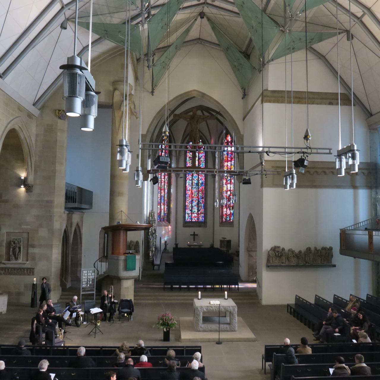 Stiftskirche, Innenansicht