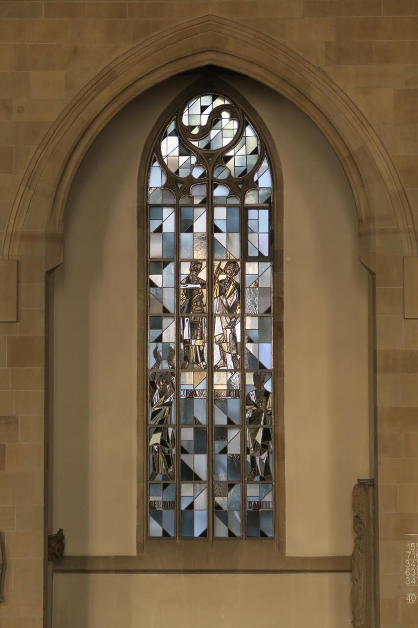Prophetenfenster in der Nordwand (1957)