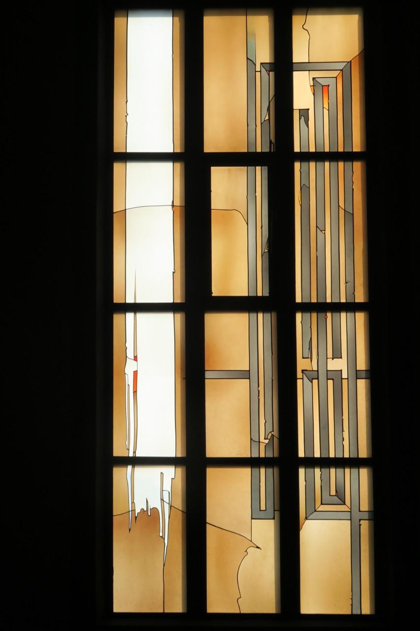 """""""Lichtmembrane"""" (Fenster in der Südwand, 2003)"""
