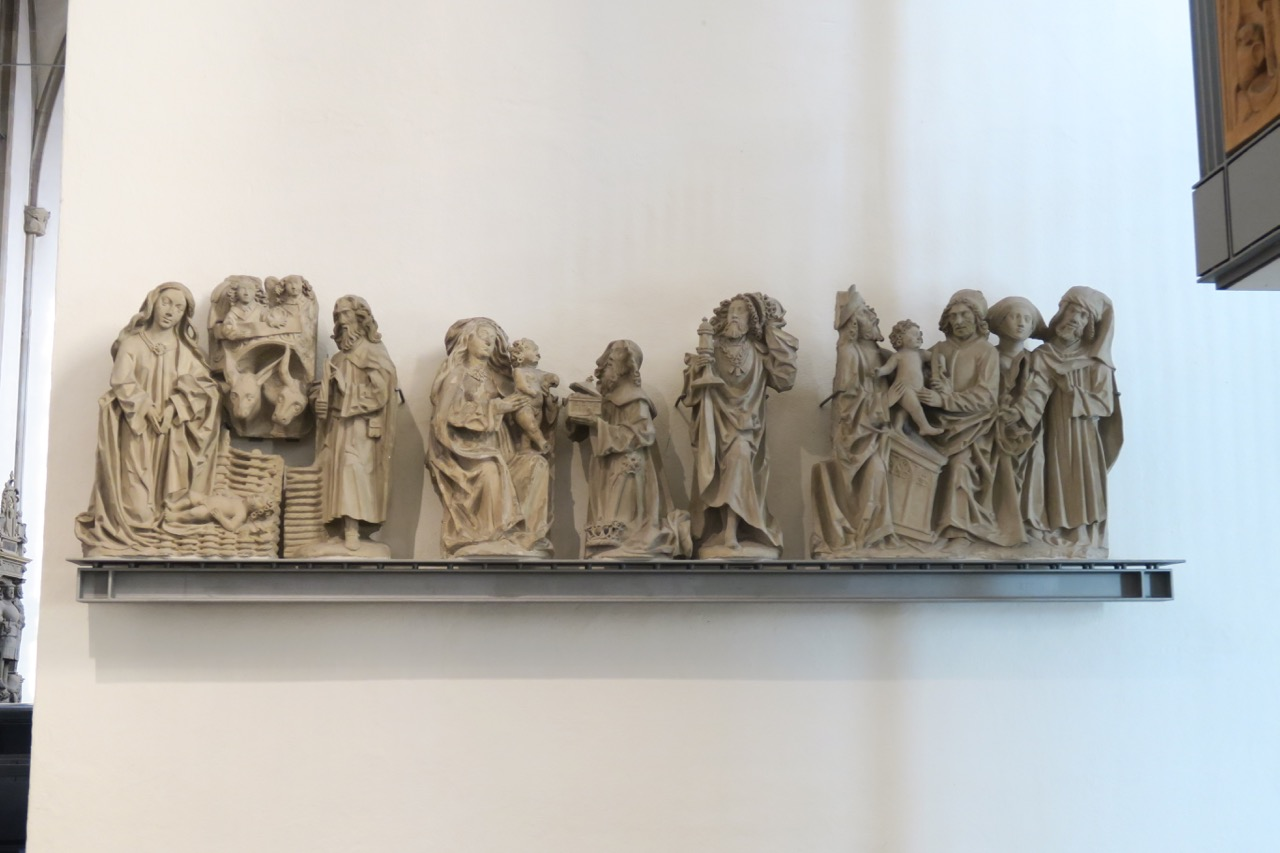 Lettnerfiguren (Weihnachtszyklus, ca. 1495)