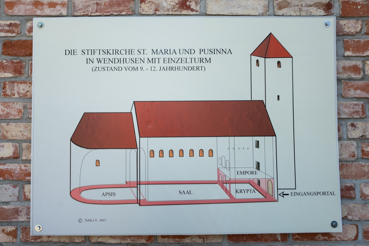 Aufriss der Grundmauern, 9.-12.Jh.