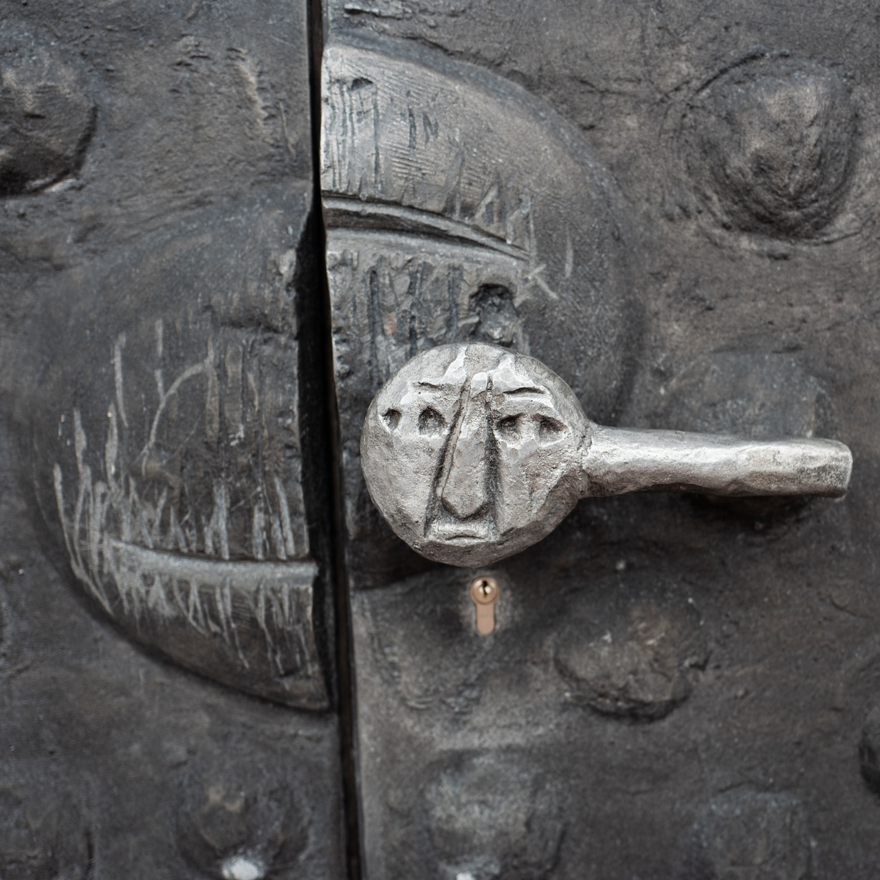 Hauptportal, Detail
