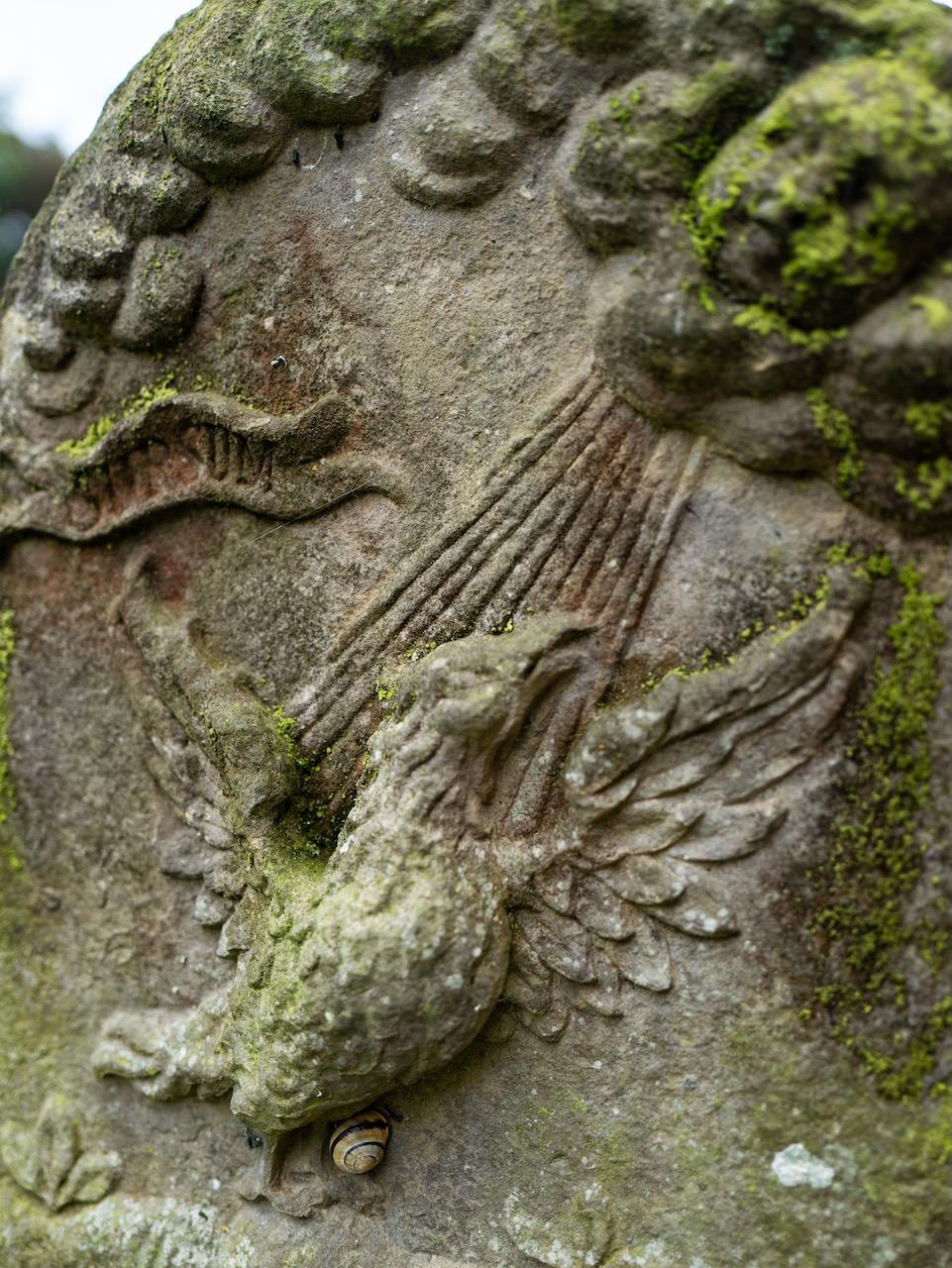 Grabstein, Detail