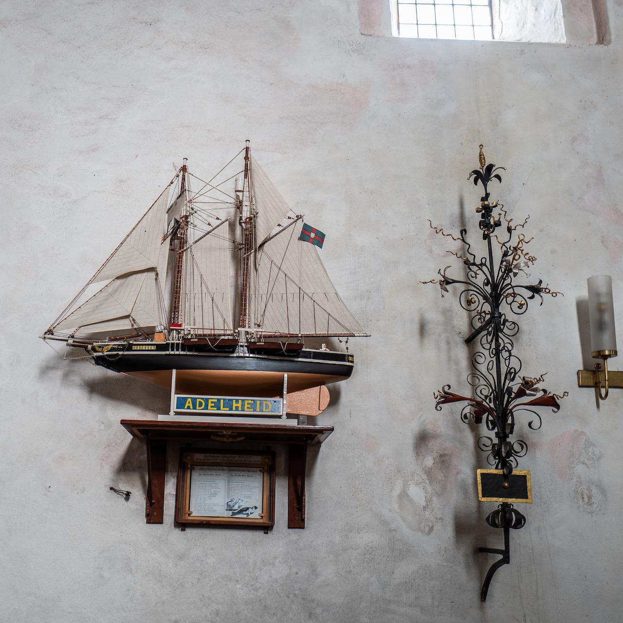 Votivgabe Robbenfängerschiff