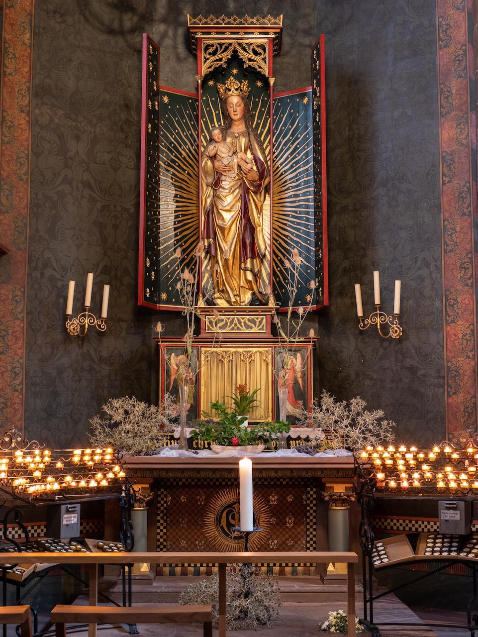 Ägidienkapelle (Marienkapelle), Altar (19. Jh.)