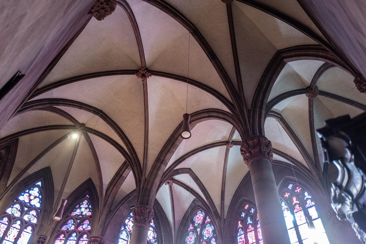 Nikolauskapelle, Gewölbe