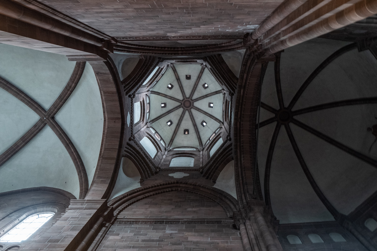 Westchor, Blick in den Chorturm