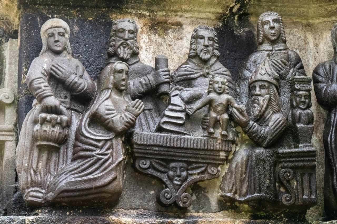 Calvaire, Nordseite, Beschneidung Christi