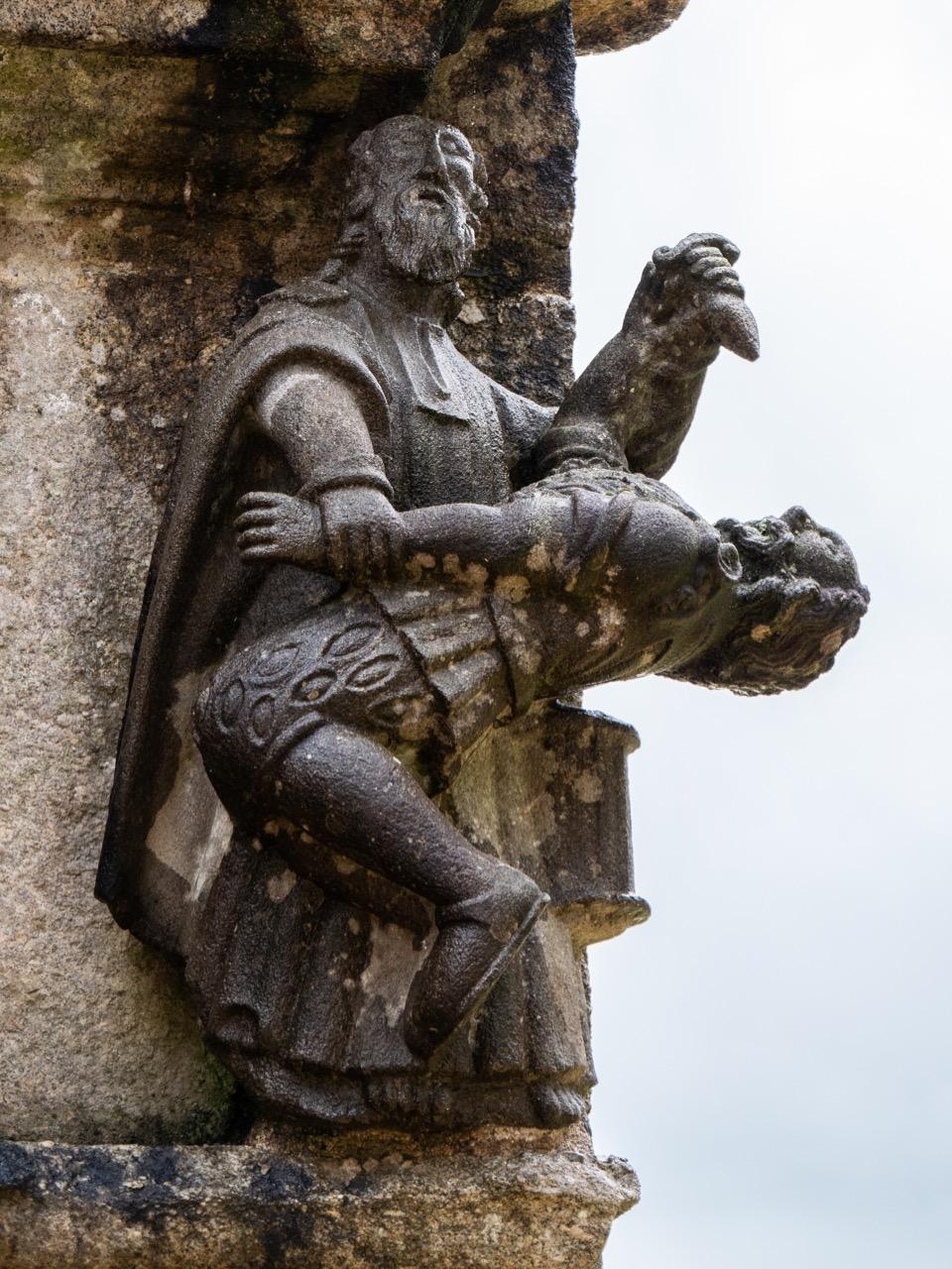 Calvaire, Nordseite, Petrus schneidet dem Soldaten ein Ohr ab