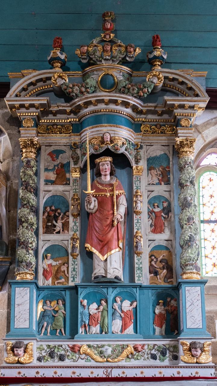 Seitenaltar des hl. Meliavus (17. Jh.)