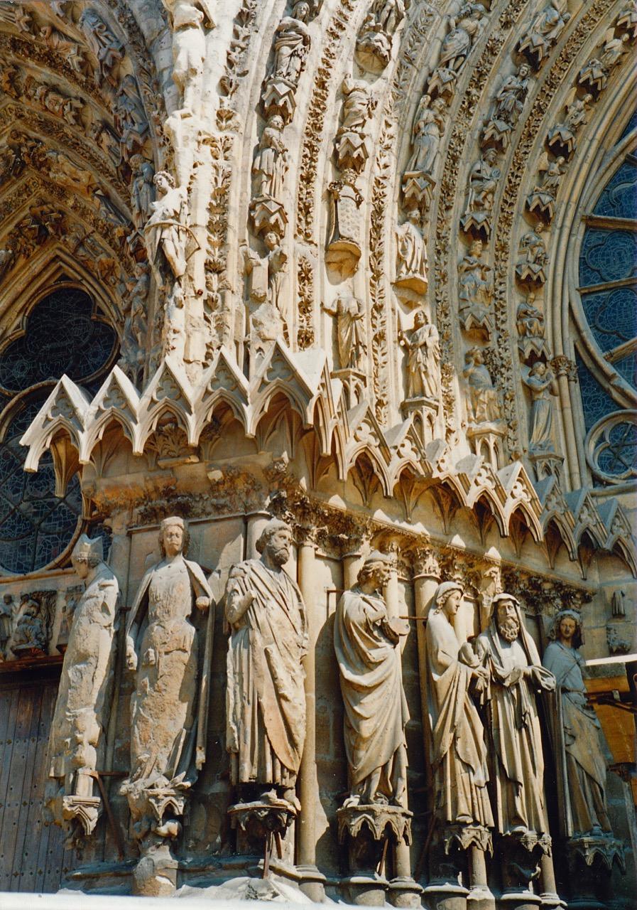 Detail des Westportals