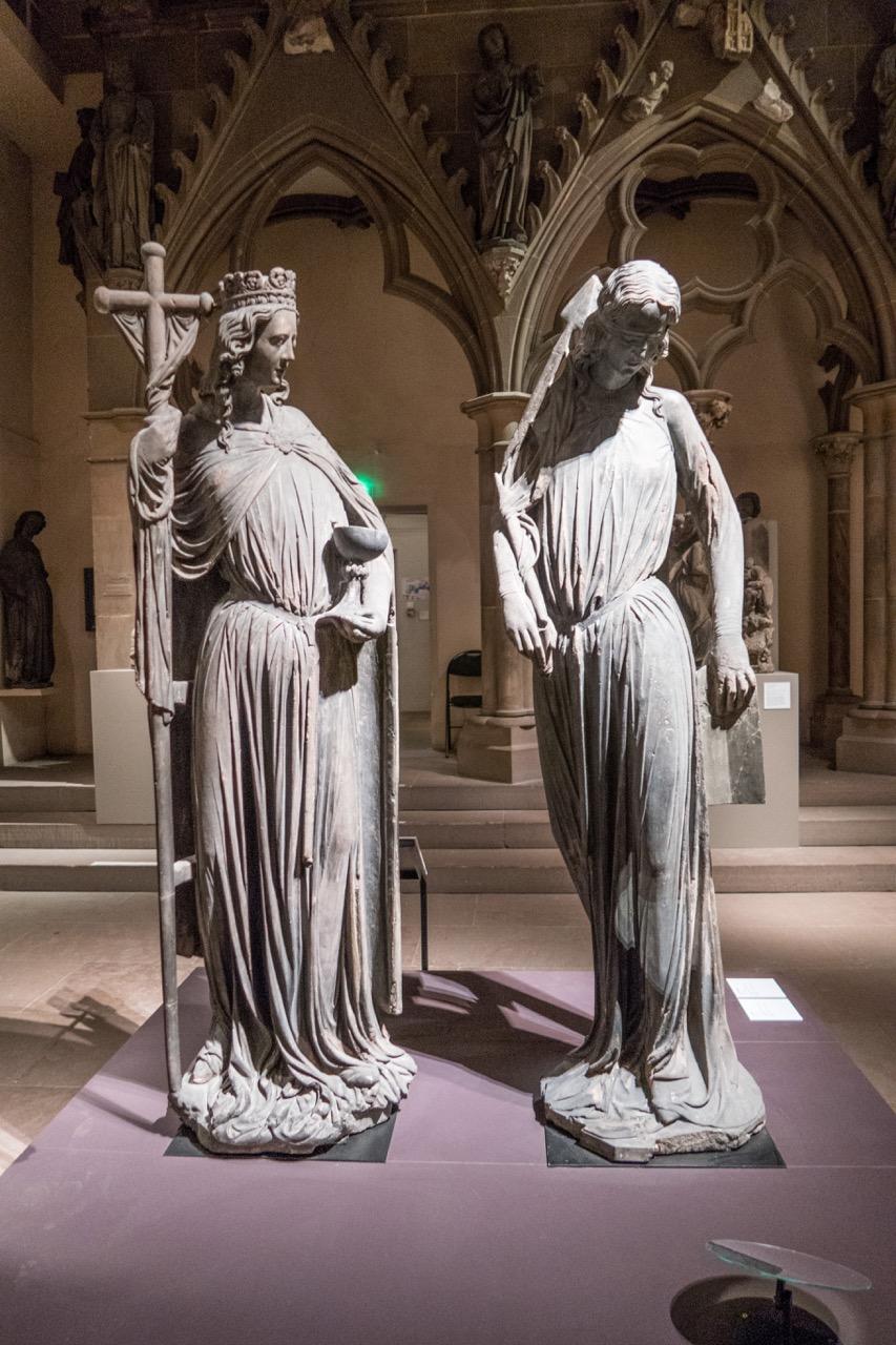 Museum: Ecclesia und Synagoge