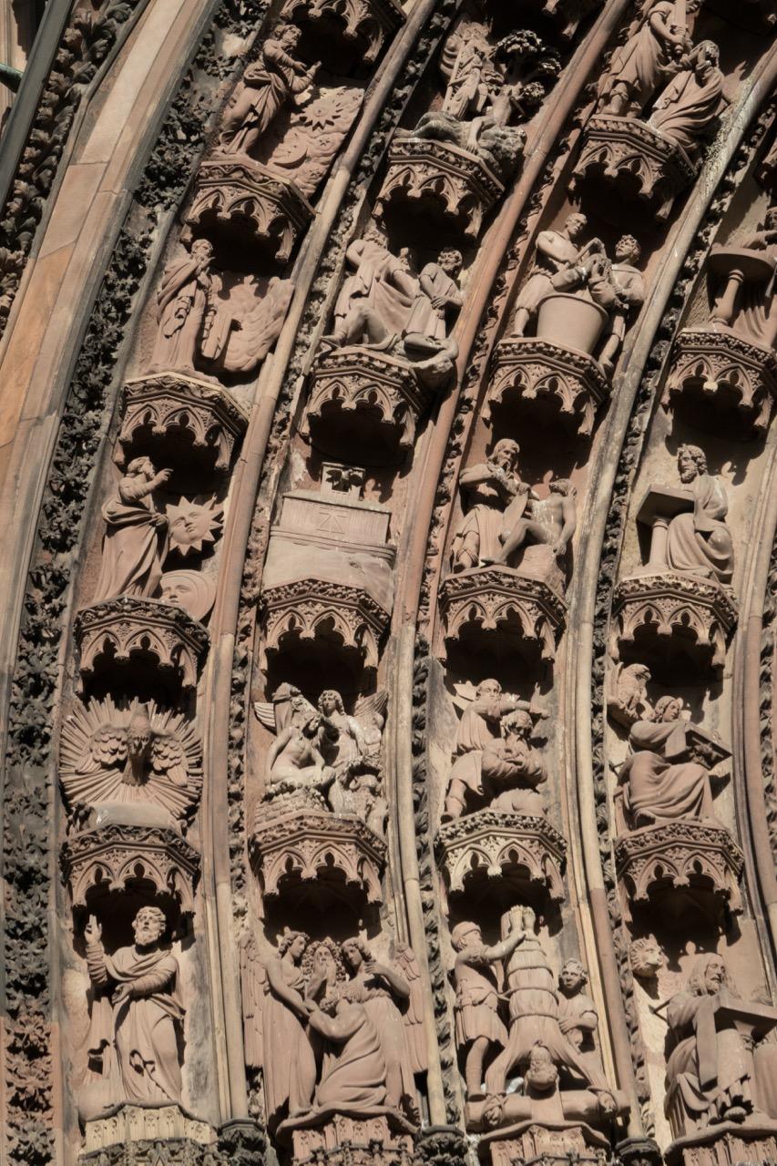 Detail Westportal