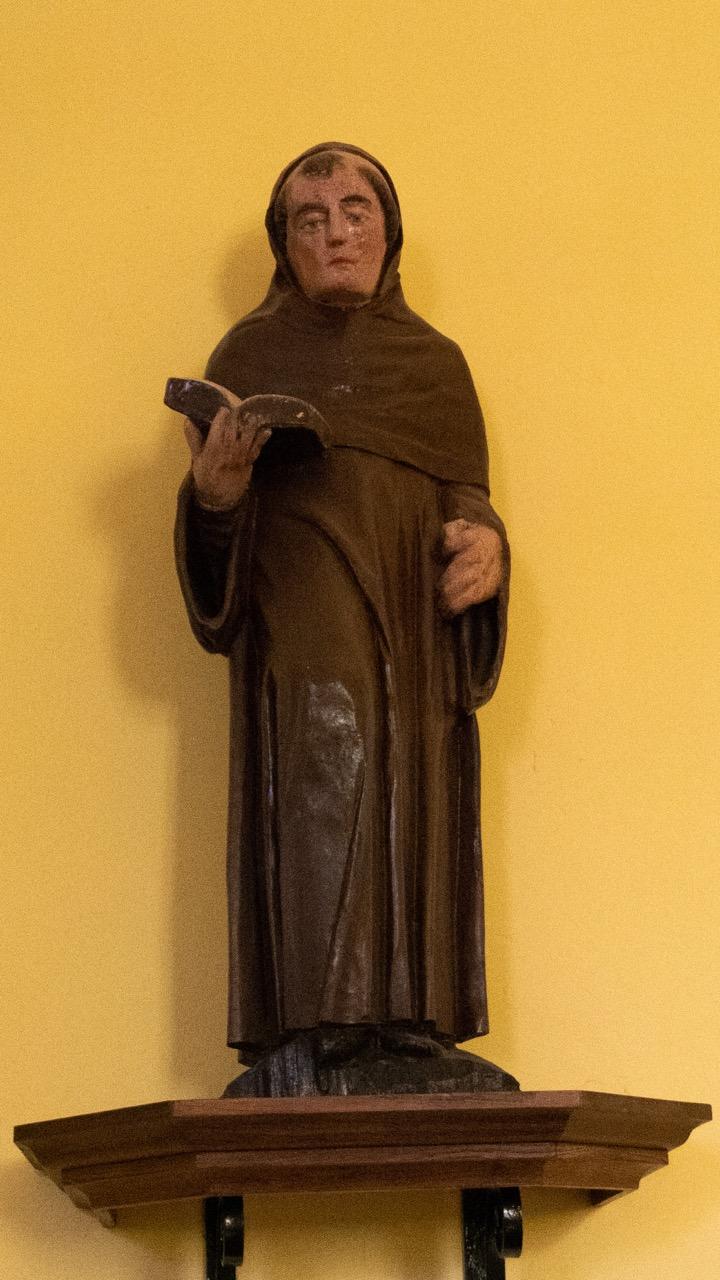 Figur des hl. Abdon (eines bekehrten Persers, der im Jahre 249 den Märtyrertod erlitt)