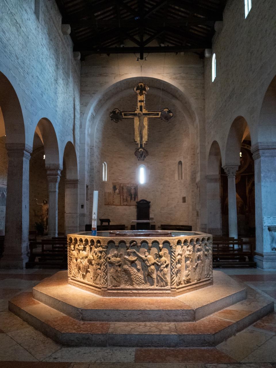 Baptisterium (San Giovanni in Fonte, 1123)