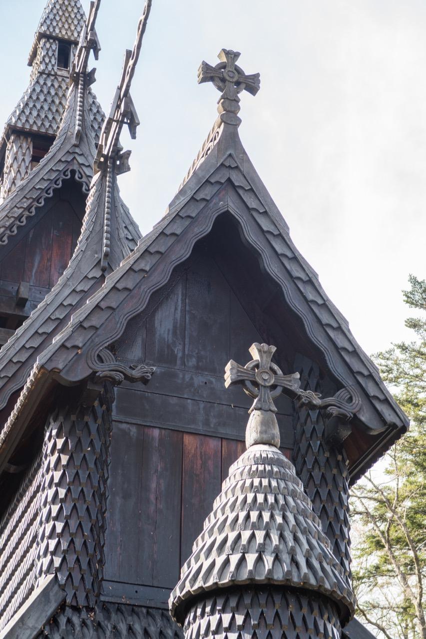 Ansicht von Südosten, Detail