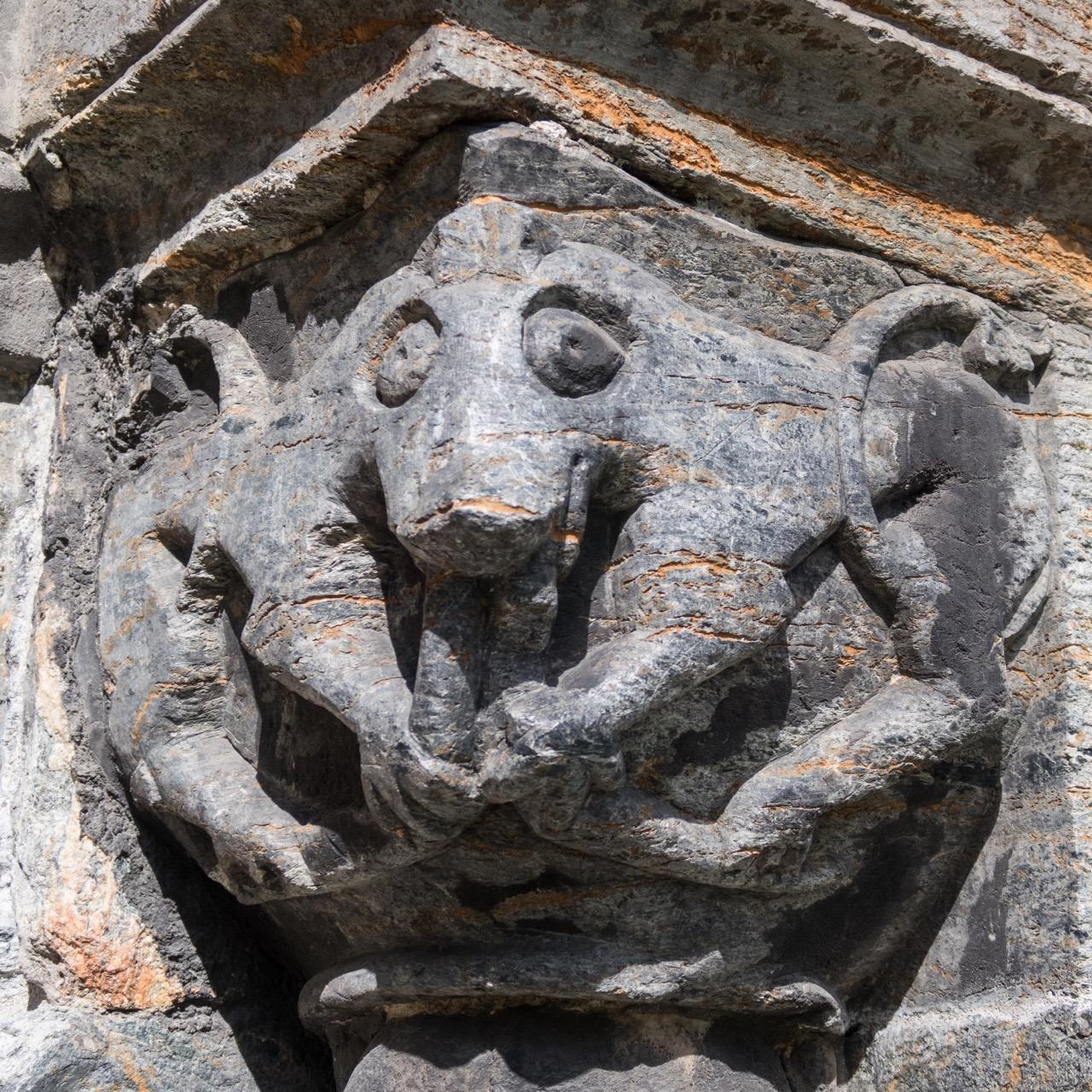 Südportal, Detail