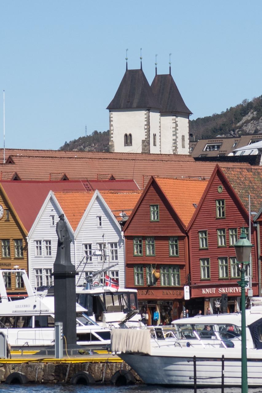 Türme über Bryggen