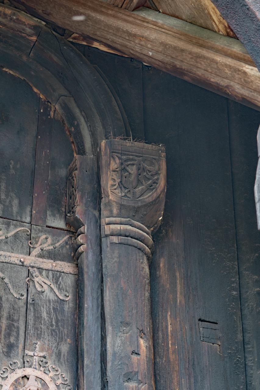 Kapitell am Westportal