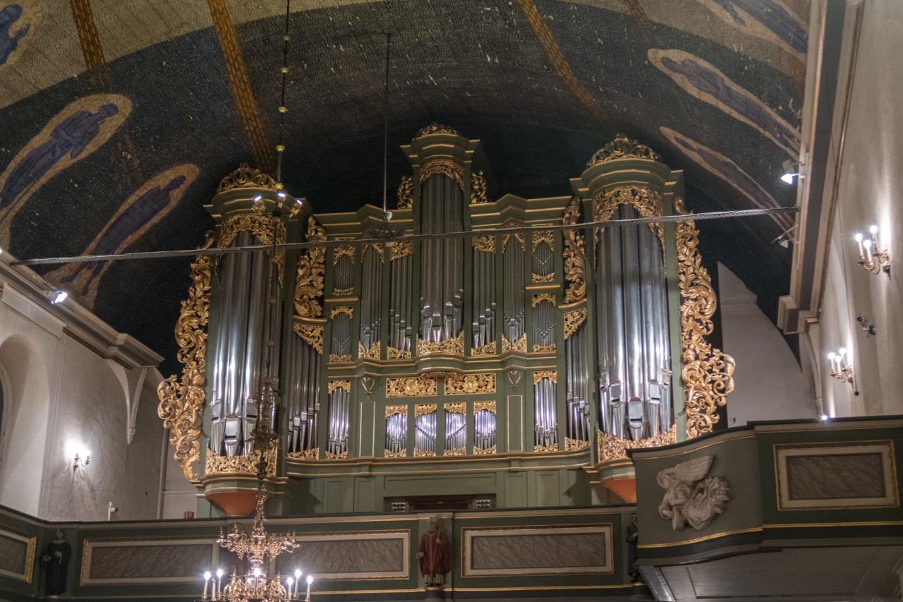 Orgelprospekt, 1727