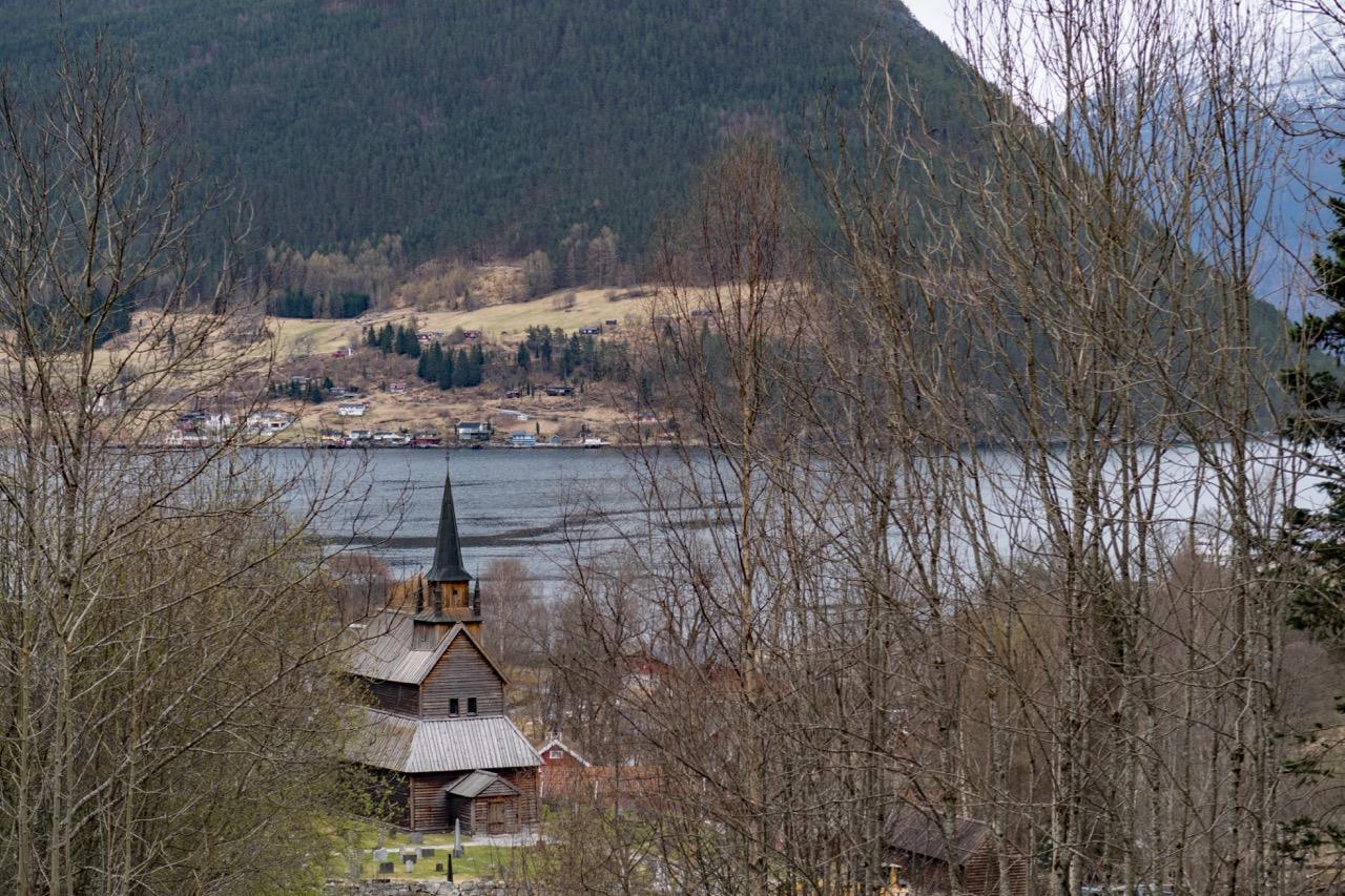 Blick auf den Sognefjord
