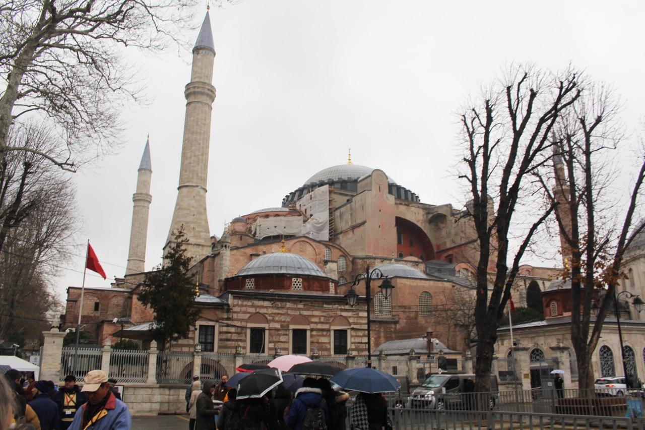 Hagia Sophia, Außenansicht