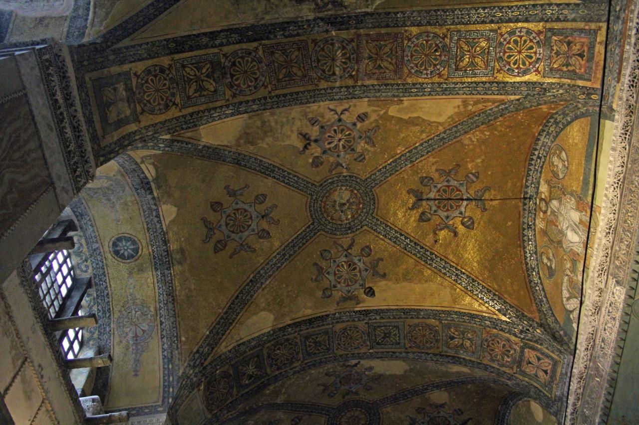 Gewölbe über dem Kaisertor