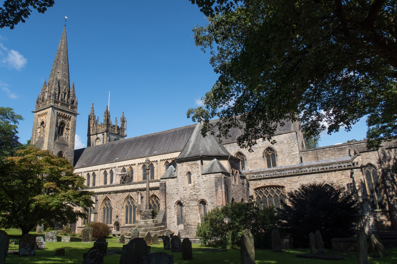 Llandaff Cathedral, view from the south east