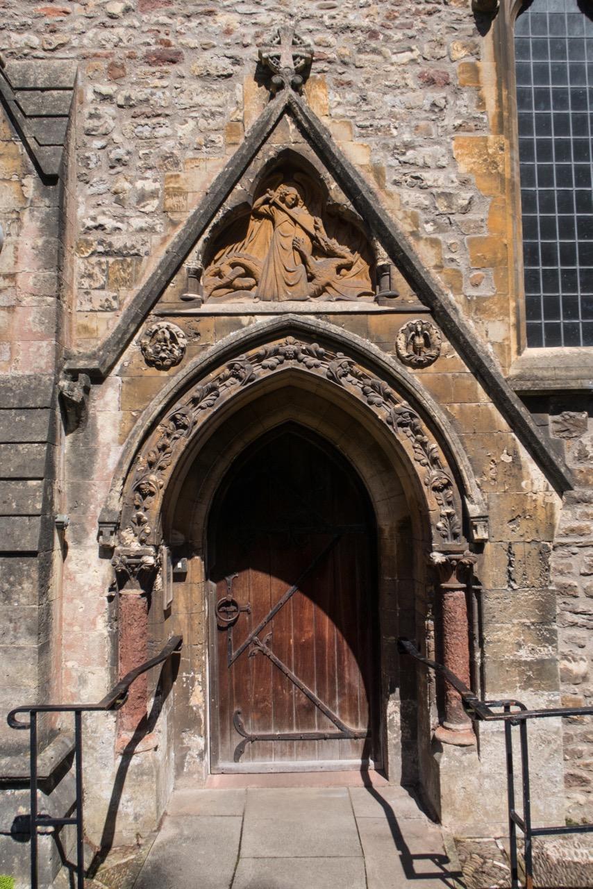 South east portal (John Prichard, c. 1840)