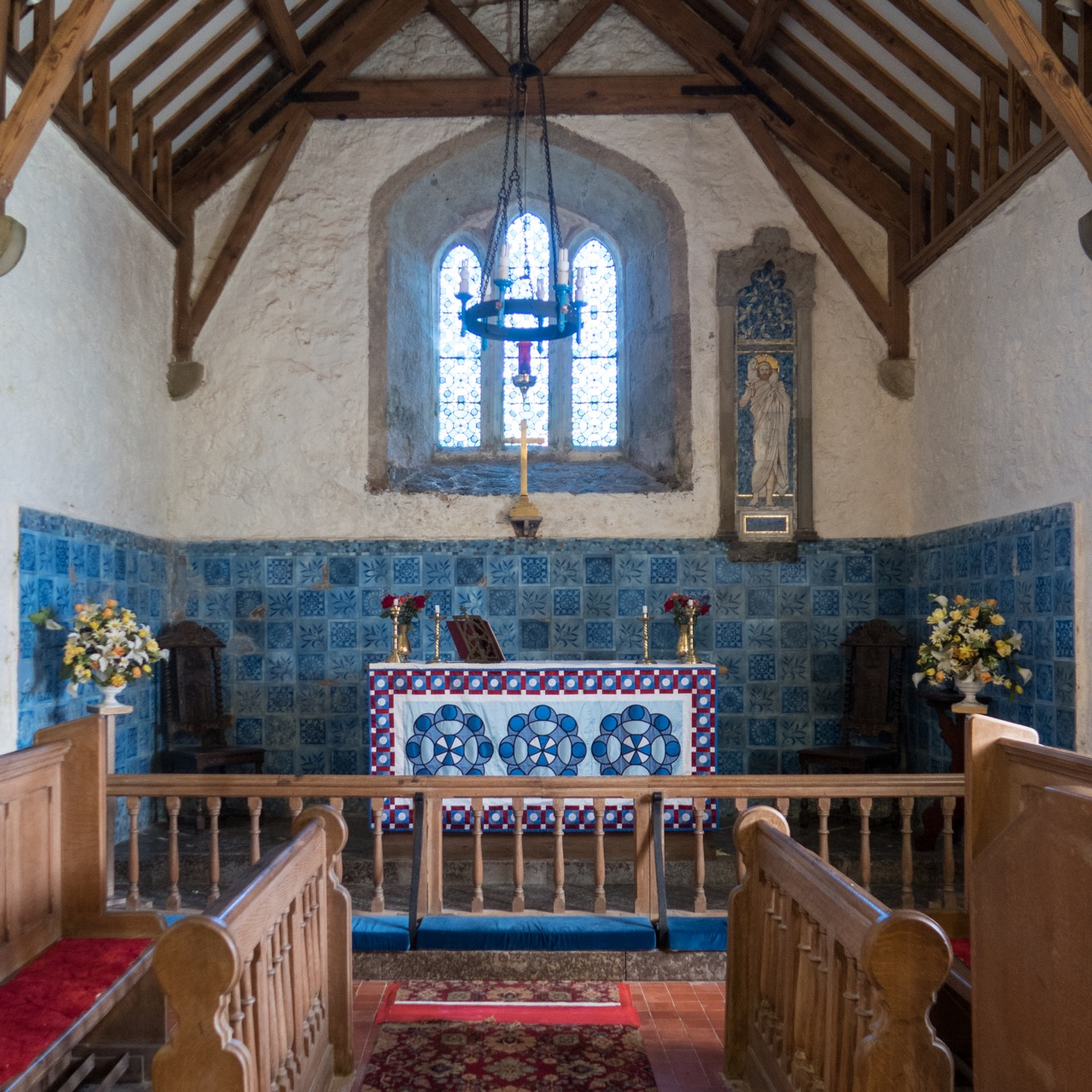 Eglwys Sant Padrig/St Patrick's Church, Innenansicht
