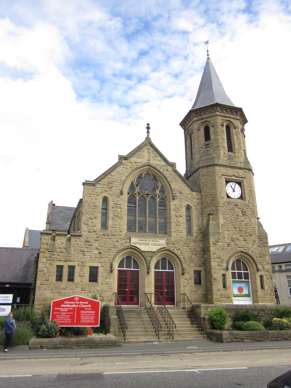Methodist Church, exterior view