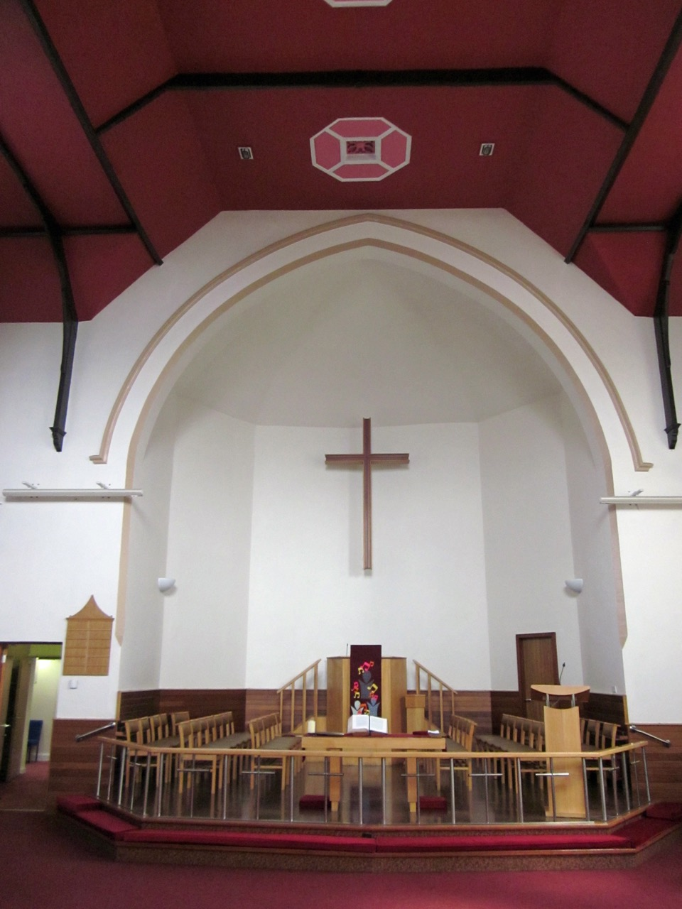 Methodist Church, interior view