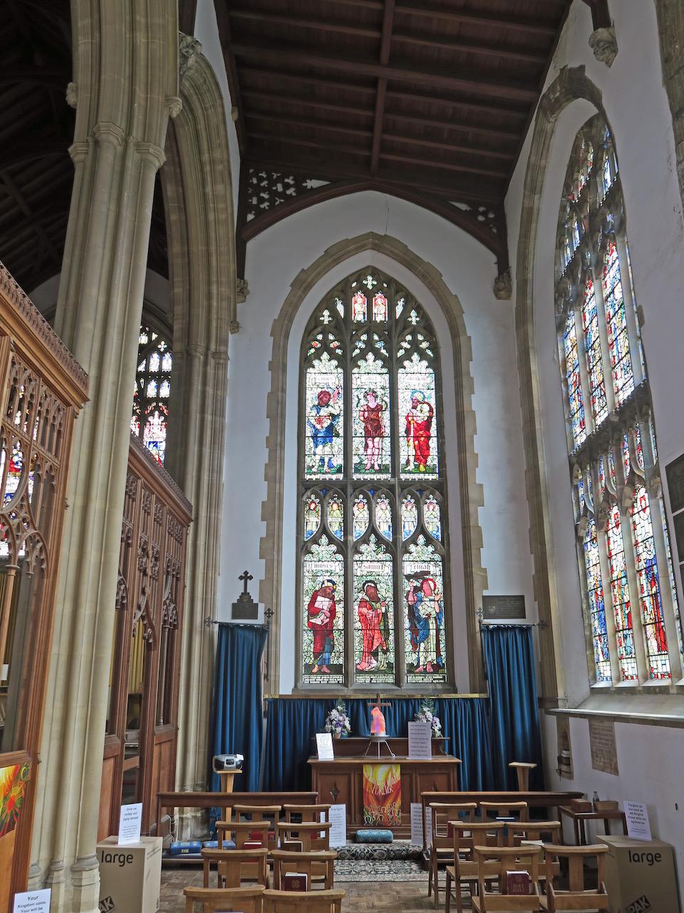 Lukaskapelle am Ostende des südlichen Seitenschiffs