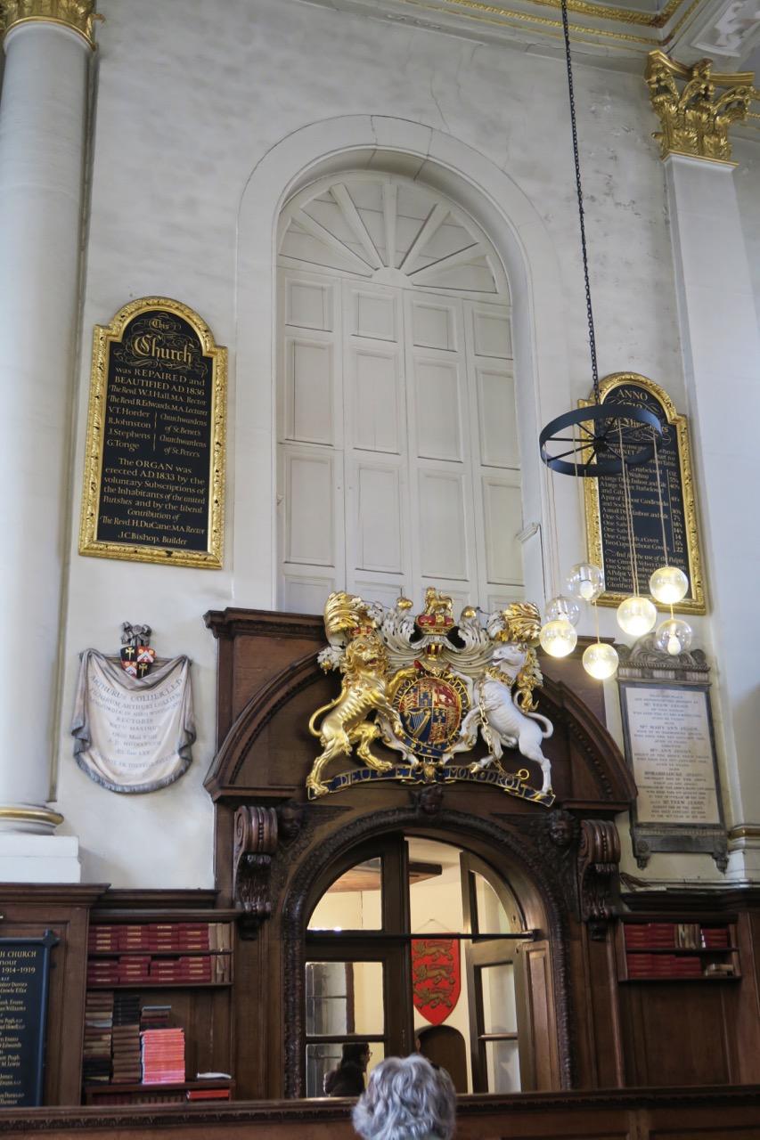 Fenster für König Charles II.