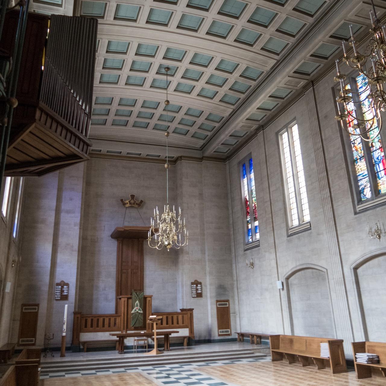 Dutch Church, interior view