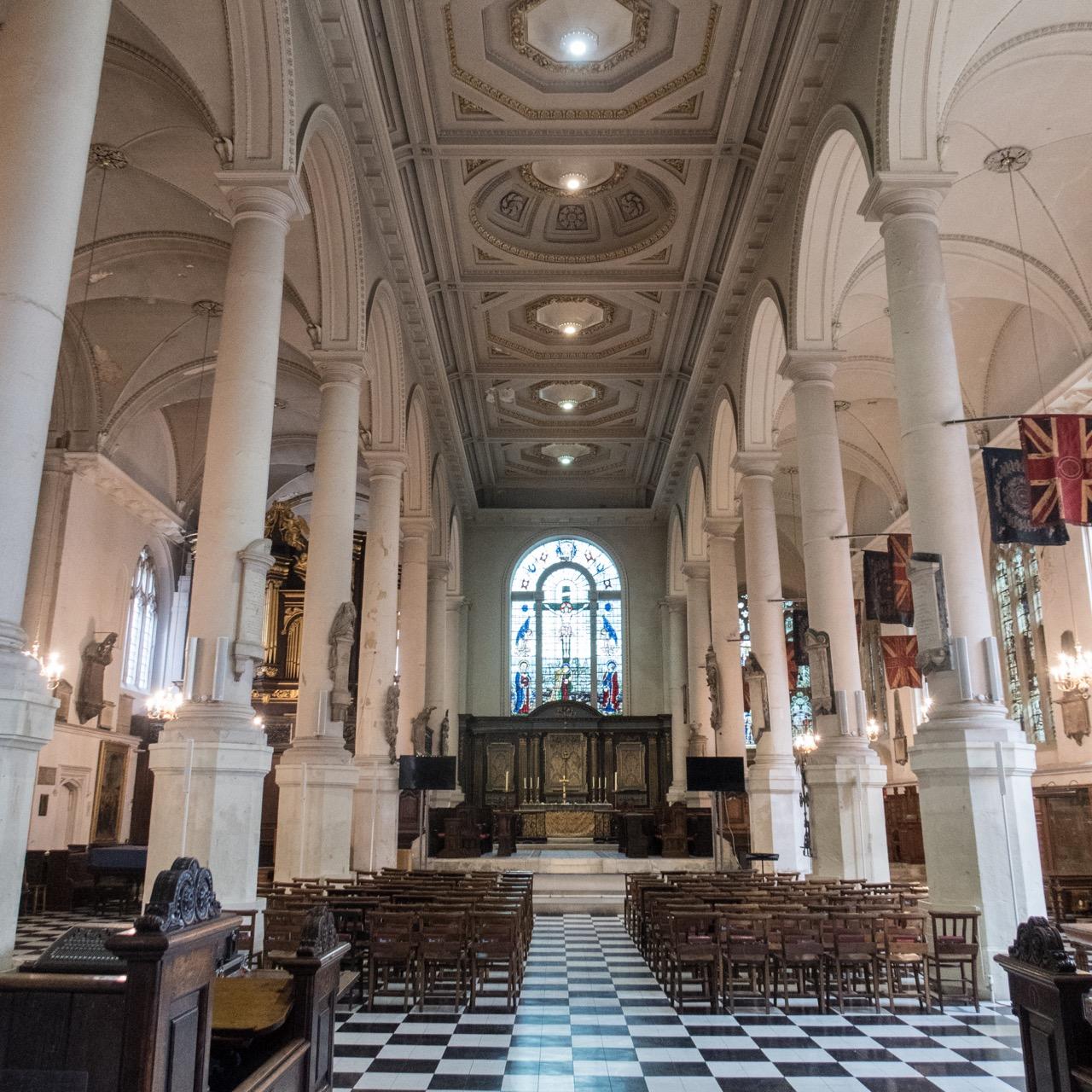 St Sepulchre, interior view