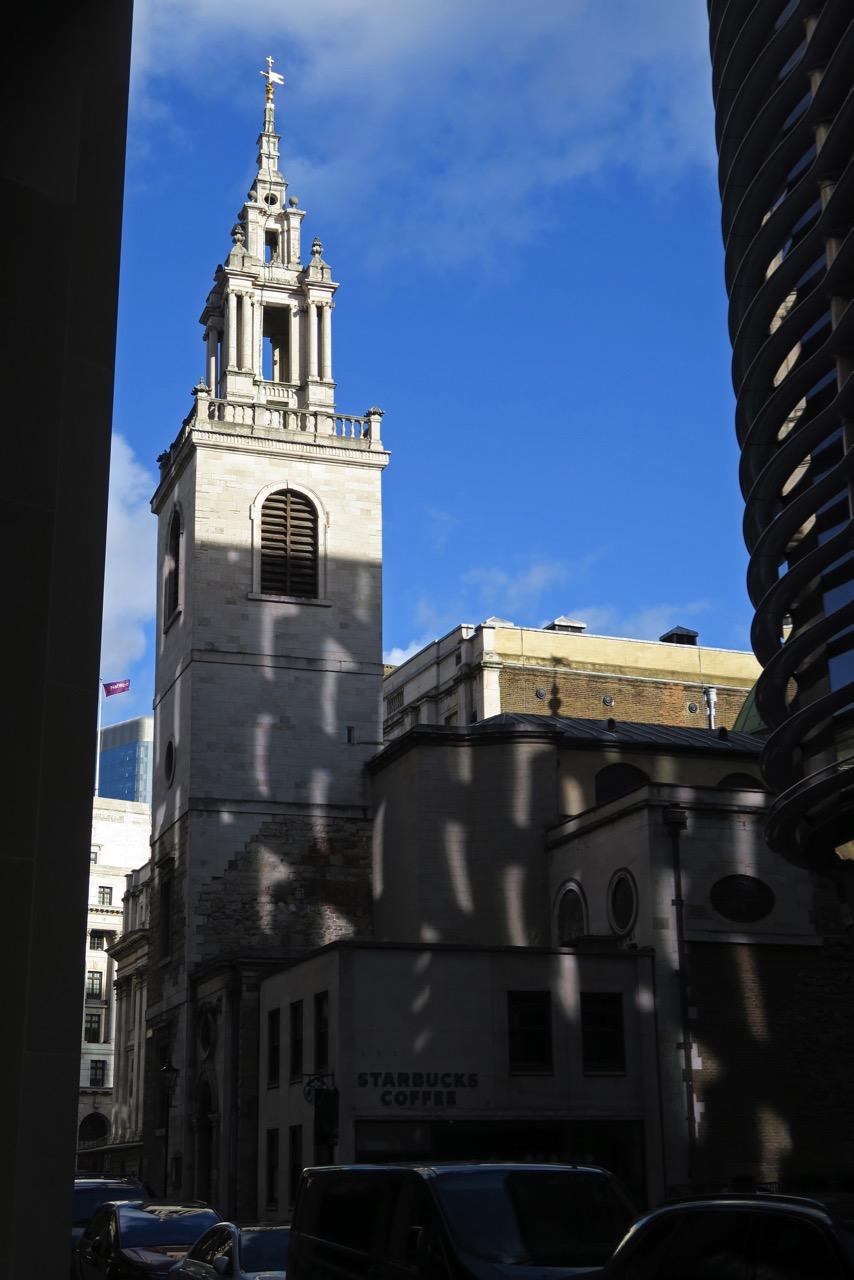 Ansicht des Turms von Süden
