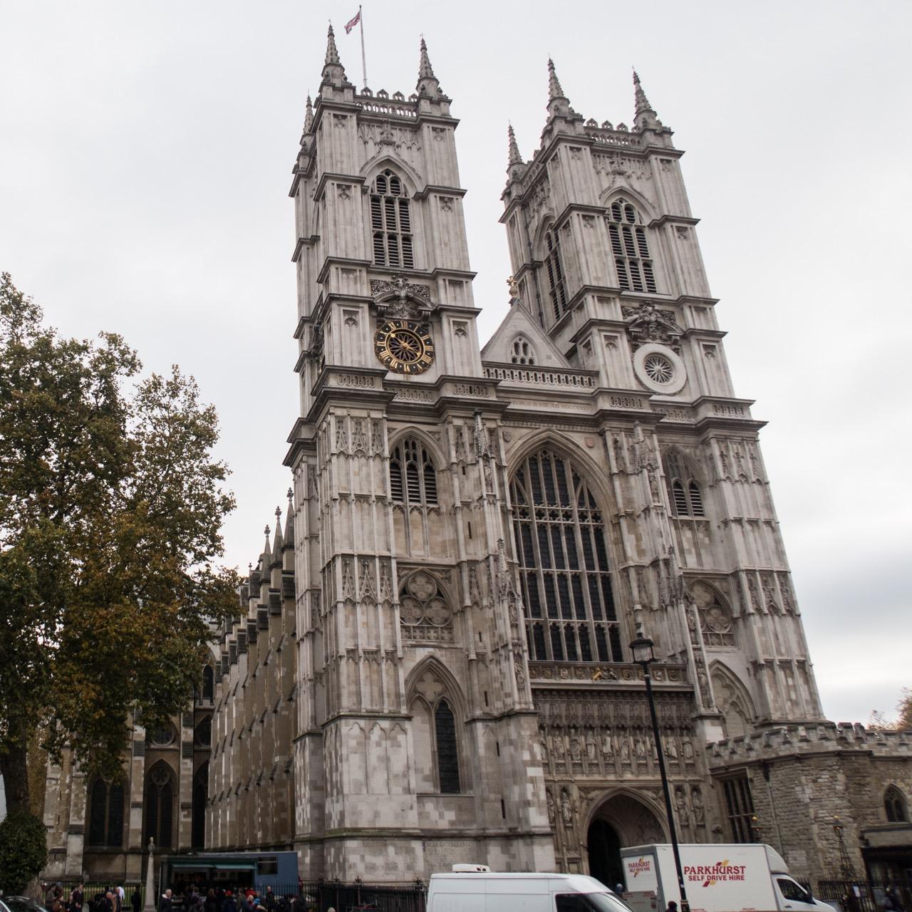 Westminster Abbey, Außenansicht (Westfassade)