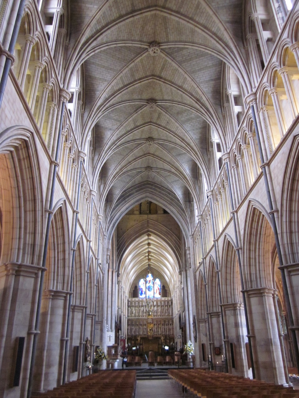 Southwark Cathedral, Innenansicht