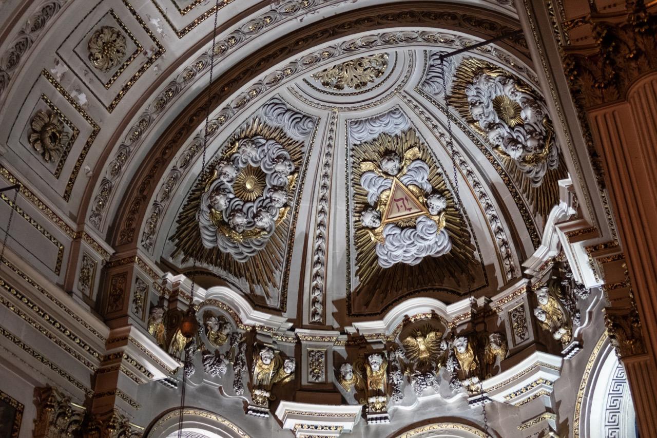 Kuppel des Altarraums