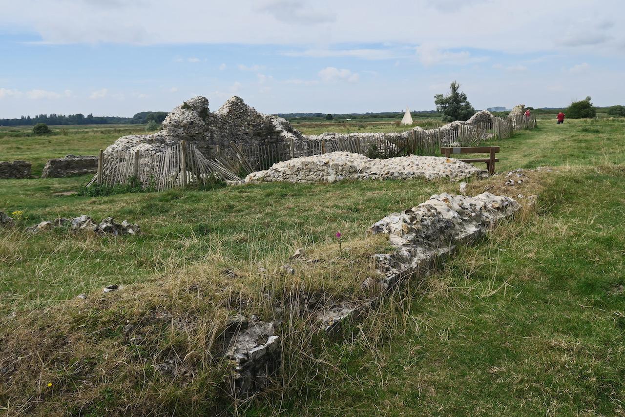 Reste des nördlichen Querhauses