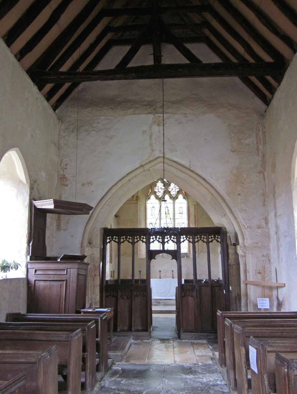 Hailes Chapel of Ease, interior view