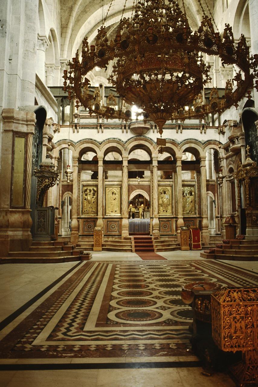 Katholikon (Hauptschiff der Basilika)